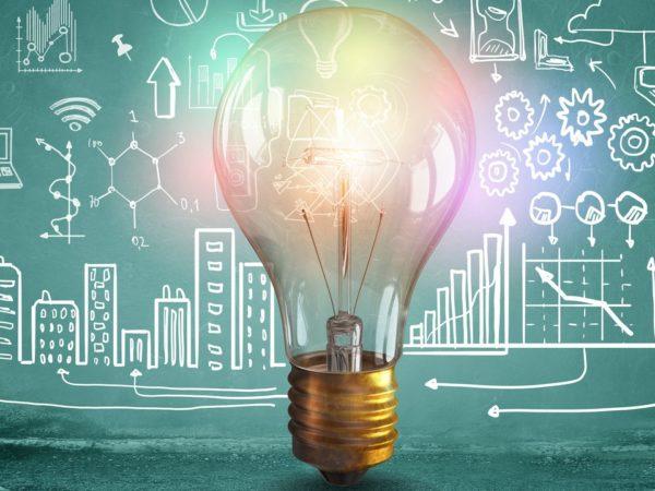 Bild på lampa