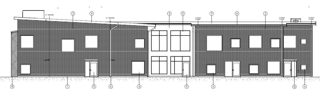 Galgbergets förskola, illustration Arkitektlaget